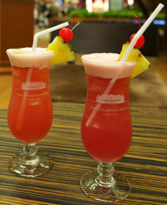 Singapore slings in Singapore airport